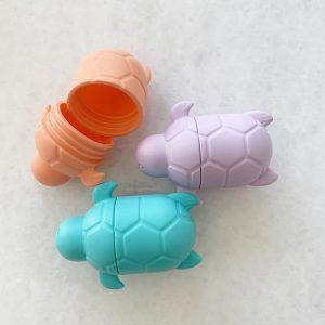 Scrunch – Badspeelgoed – 3 Vrolijke Schildpadden in Tropische Kleuren