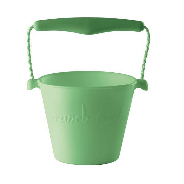 Scrunch - Flexibel Emmertje - pastel groen